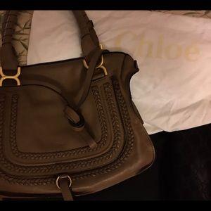 Chloe classic satchel bag